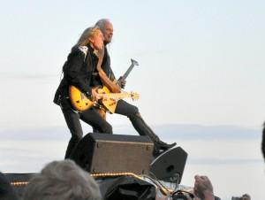 Medlocke og Matejka. Freebird på Swenden Rock Festival